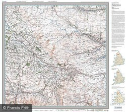 Appleby-in-Westmorland (1925) Popular Edition Folded Sheet Map