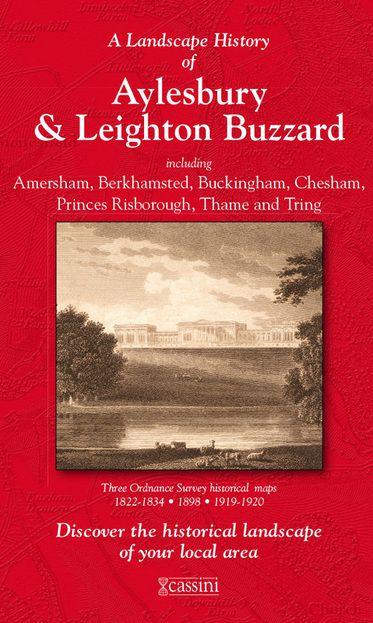 Aylesbury & Leighton Buzzard (1822) 3-Map Boxed Sets Folded Sheet Map