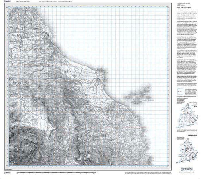 Berwick-upon-Tweed (1865) Old Edition Folded Sheet Map
