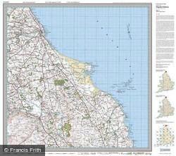Berwick-upon-Tweed (1926) Popular Edition Folded Sheet Map