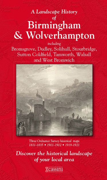 Birmingham & Wolverhampton (1831) 3-Map Boxed Set
