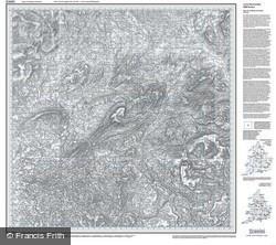 Blackburn & Burnley (1842) Old Edition Folded Sheet Map
