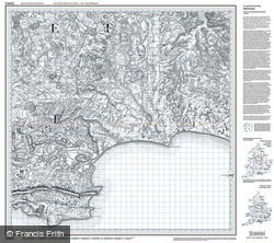 Bournemouth & Purbeck (1811) Old Edition Folded Sheet Map