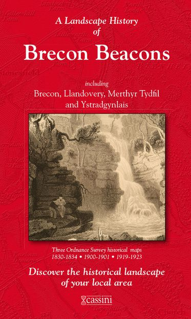 Brecon Beacons (1830) 3-Map Boxed Sets Folded Sheet Map