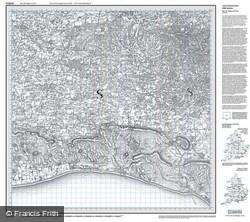 Brighton & Lewes (1813) Old Edition Folded Sheet Map