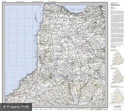 Bude & Clovelly (1919) Popular Edition Folded Sheet Map
