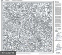 Bury St Edmunds (1805) Old Edition Folded Sheet Map