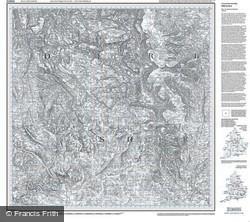 Buxton & Matlock (1837) Old Edition Folded Sheet Map