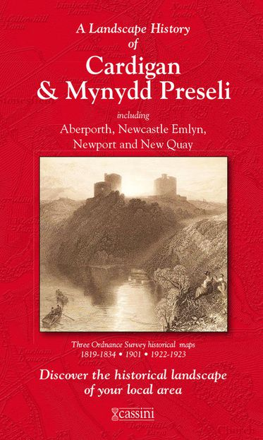 Cardigan & Mynydd Preseli (1819) 3-Map Boxed Sets Folded Sheet Map