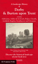 Derby & Burton upon Trent (1834) 3-Map Boxed Sets Folded Sheet Map