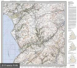 Dolgellau & Porthmadog (1921) Popular Edition Folded Sheet Map