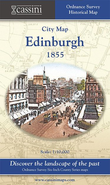 Edinburgh 1855 (1855) City Map