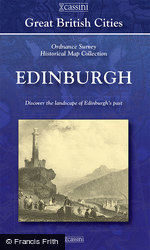Edinburgh (1857) 5-Map Boxed Sets Folded Sheet Map