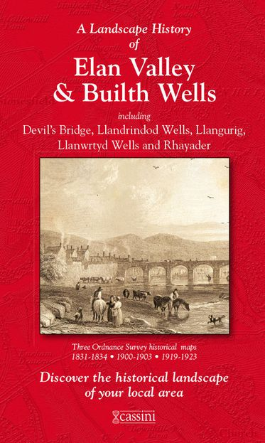 Elan Valley & Builth Wells (1831) 3-Map Boxed Set