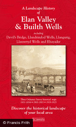 Elan Valley & Builth Wells (1831) 3-Map Boxed Sets Folded Sheet Map