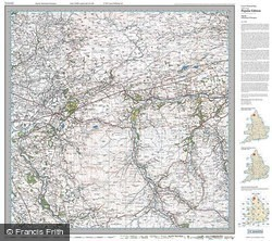 Haltwhistle & Brampton (1925) Popular Edition Folded Sheet Map