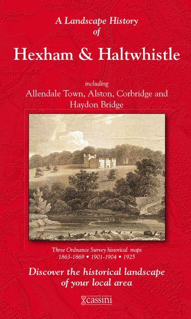 Hexham & Haltwhistle (1863) 3-Map Boxed Sets Folded Sheet Map