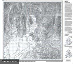 Kendal & Morecambe (1852) Old Edition Folded Sheet Map