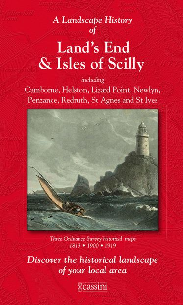 Land's End & Isles of Scilly (1813) 3-Map Boxed Set