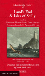 Land's End & Isles of Scilly (1813) 3-Map Boxed Sets Folded Sheet Map