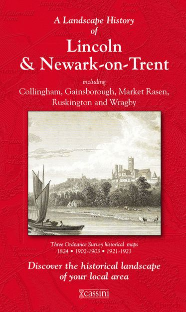 Lincoln & Newark-on-Trent (1824) 3-Map Boxed Set