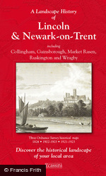 Lincoln & Newark-on-Trent (1824) 3-Map Boxed Sets Folded Sheet Map