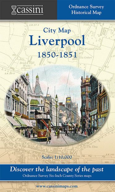 Liverpool 1850-1851 (1850) City Map
