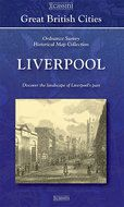 Old Folded Sheet Map of Liverpool, 1840