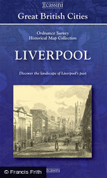 Liverpool (1840) 5-Map Boxed Sets Folded Sheet Map