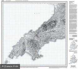 Lleyn Peninsula (1839) Old Edition Folded Sheet Map