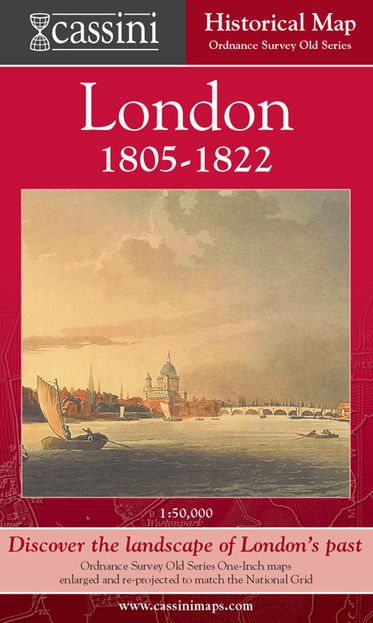 London 1805-1822 (1805) London Map