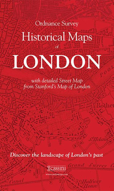 London (1805) 5-Map Boxed Set