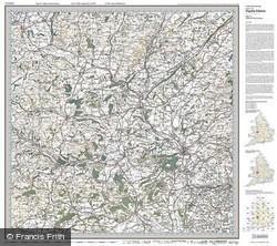 Ludlow & Church Stretton (1920) Popular Edition Folded Sheet Map