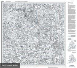 Luton & Hertford (1805) Old Edition Folded Sheet Map