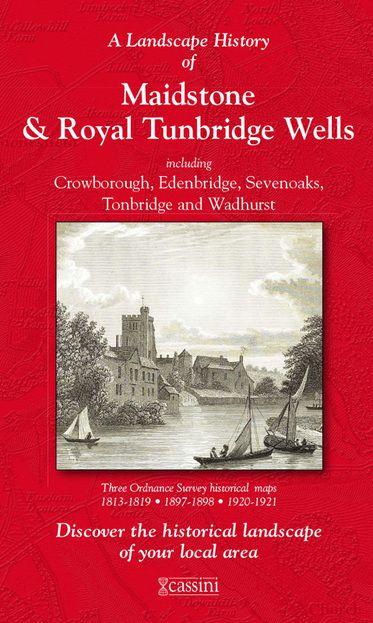 Maidstone & Royal Tunbridge Wells (1813) 3-Map Boxed Set