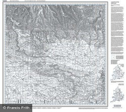 Malton & Pickering (1857) Old Edition Folded Sheet Map