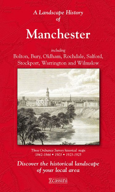 Manchester (1842) 3-Map Boxed Set