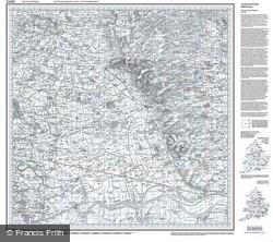 Market Weighton (1824) Old Edition Folded Sheet Map