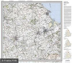 Middlesbrough (1925) Popular Edition Folded Sheet Map