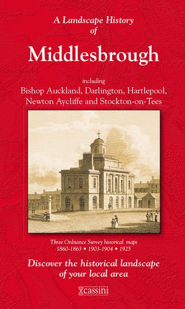 Middlesbrough (1860) 3-Map Boxed Set