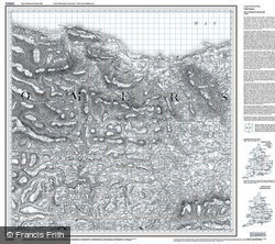 Minehead & Brendon Hills (1809) Old Edition Folded Sheet Map
