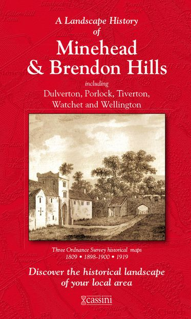 Minehead & Brendon Hills (1809) 3-Map Boxed Set