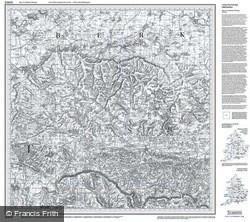 Newbury & Wantage (1817) Old Edition Folded Sheet Map