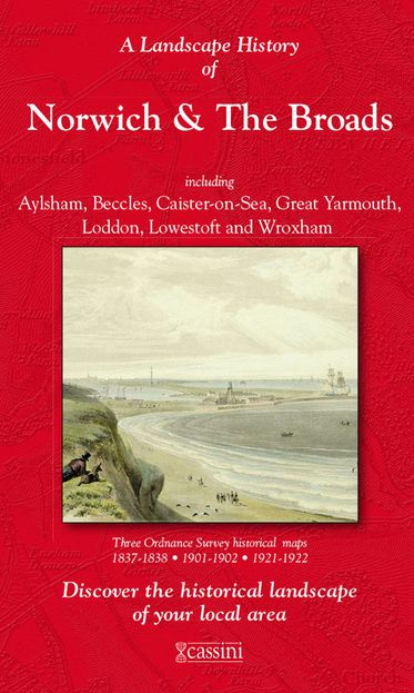 Norwich & The Broads (1837) 3-Map Boxed Set