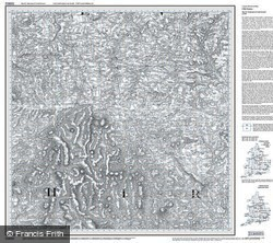 Okehampton & North Dartmoor (1809) Old Edition Folded Sheet Map