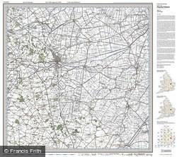 Peterborough (1920) Popular Edition Folded Sheet Map