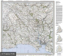 Plymouth & Launceston (1919) Popular Edition Folded Sheet Map