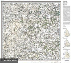 Presteigne & Hay-on-Wye (1919) Popular Edition Folded Sheet Map