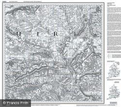 Salisbury & The Plain (1811) Old Edition Folded Sheet Map