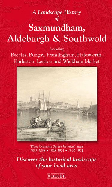 Saxmundham, Aldeburgh & Southwold (1837) 3-Map Boxed Sets Folded Sheet Map